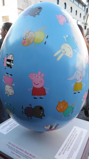 Huevo de Pascua de Peppa Pig