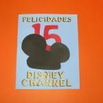 Disney Channel te invita a celebrar su 15 aniversario con una manualidad DIY