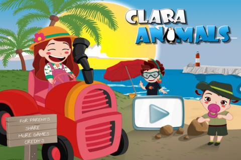 clara animal app niños