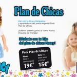 Plan de Chicas Nancy en Llongueras, disfruta con tu hija y aprovéchate del pack Nancy
