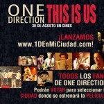 One Direction: This is us llega a tu ciudad