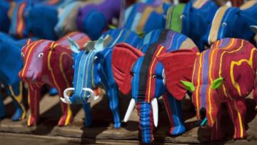 Juguetes reciclados originales hechos con chanclas