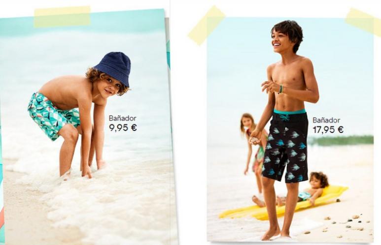 bañador niño catalogo primavera verano 2013 niños