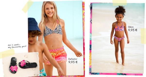 bikinis niñas catalogo primavera verano 2013 niños