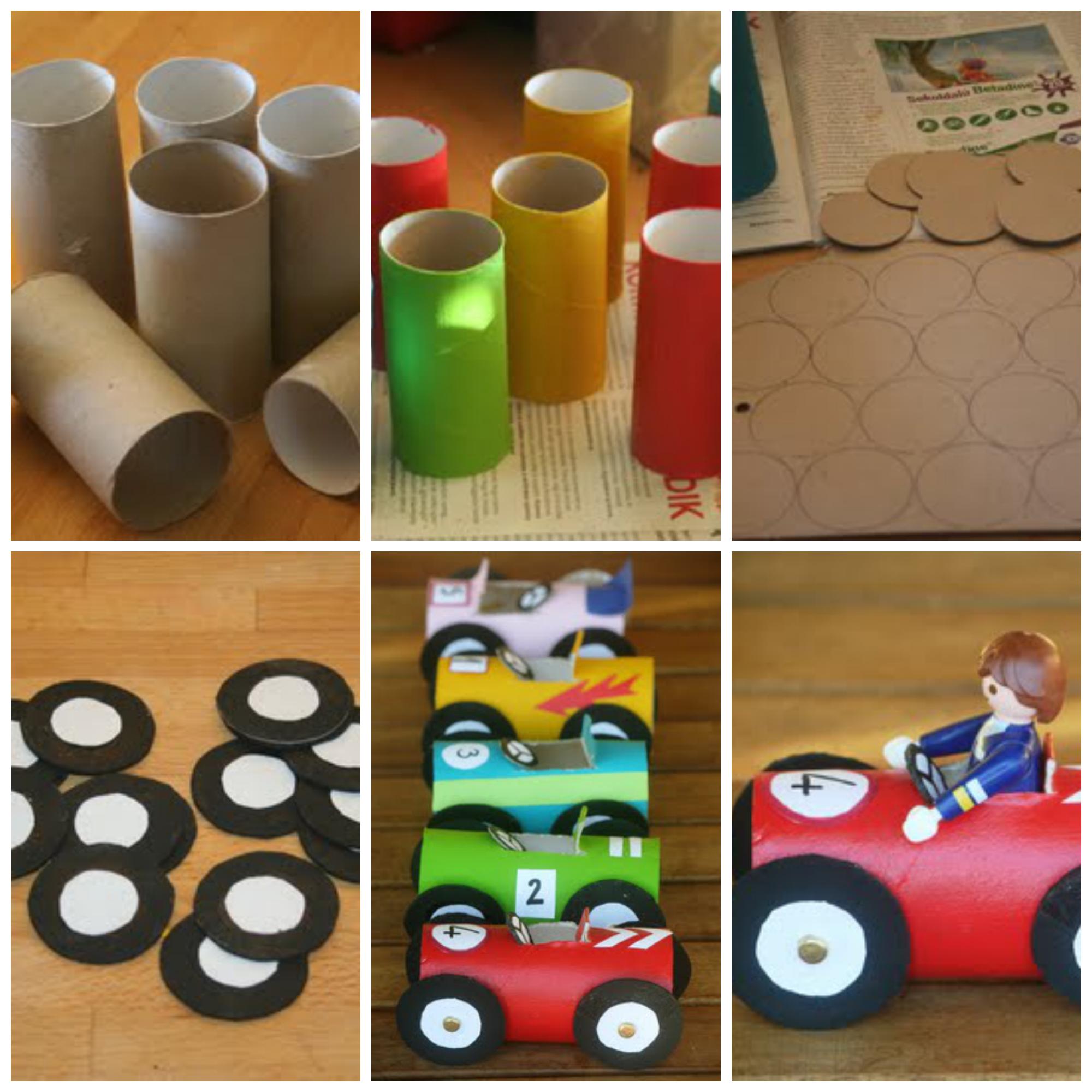 Manualidades con reciclaje para niños