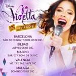 ¡Violetta Llega a España!