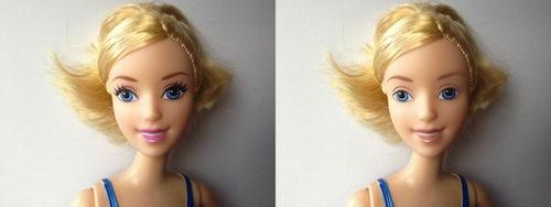 muñeca cenicienta disney princess sin maquillaje