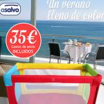 ¡Promoción Cuna de viaje Asalvo Parchís por 35€!