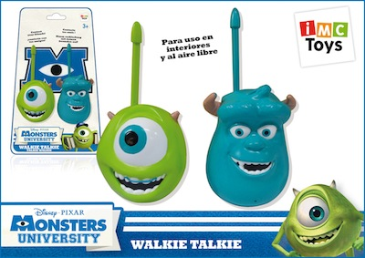 Walkie talkies de Monstruos University