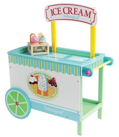 stand de helados de Imaginarium
