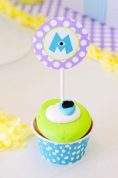 cupcake monstruos university