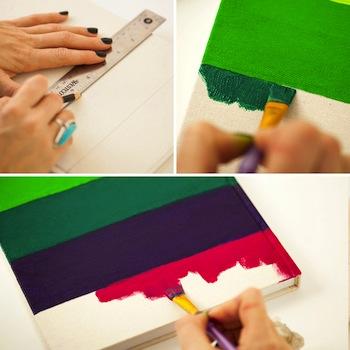 decorar cuadernos con rayas
