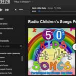Música para niños online de Deezer