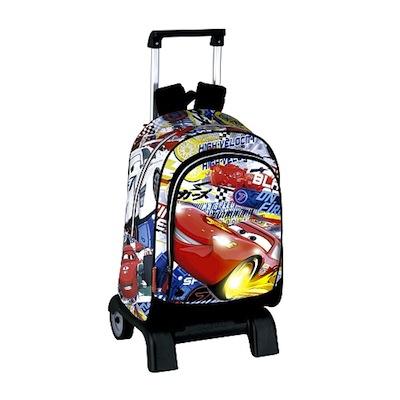 mochila con ruedas cars