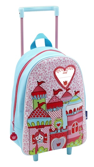 mochila infantil con ruedas princesa