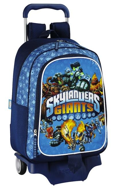 mochila con ruedas de skylanders giants
