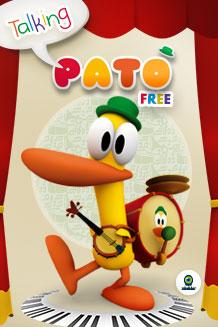 talking pato app gratis para niños de la serie Pocoyo