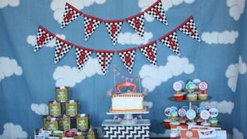 Fiesta de cumpleaños de AVIONES de Disney