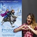 Violetta le pone música a Frozen