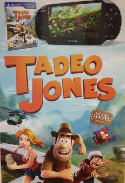 Tadeo Jones PS Vita