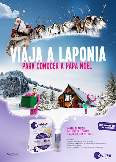 Arnidol viaje a Laponia