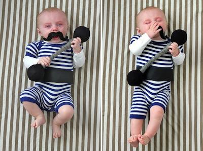 disfraz bebe fortachon
