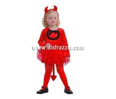 Disfraz de Demonio niña para Halloween