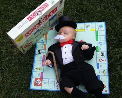 disfraz bebe Mr. Monopoly