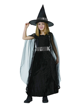 Disfraz niña bruja para Halloween