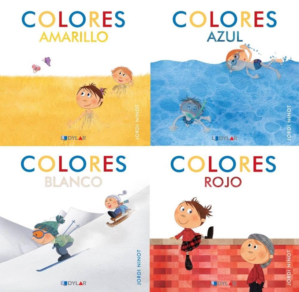 los colores libros infantiles de dylar ediciones