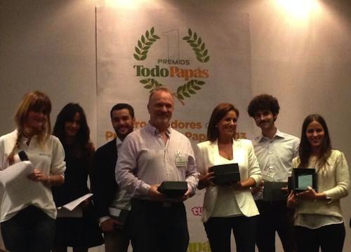 Premios TodoPapás 2013 categoría pasear y viajar