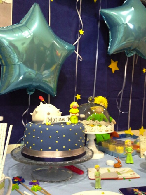 tarta de cumpleaños el principito
