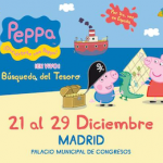 ¡Sorteamos 4 entradas para disfrutar del espectáculo de Peppa Pig en Madrid!