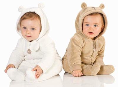pijamas bebés oso polar