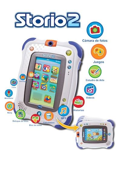 Sorteo tablet para niños storio2 vtech
