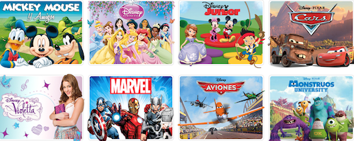 Disney Store España personajes de Disney