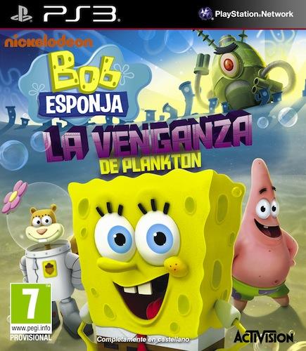 Bob Esponja La Venganza de Plankton PS3