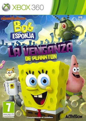 Bob Esponja La Venganza de Plankton Xbox360