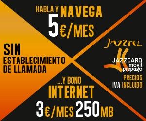 Jazzcard móvil prepago