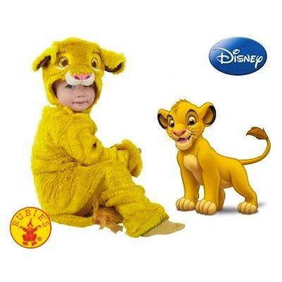Disfraz de Simba Rey León bebe
