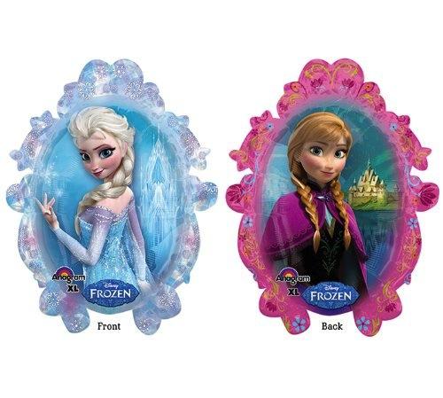Fiesta Frozen globos Anna y Elsa