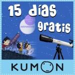 ¡Prueba 15 días gratis de Kumon y además podrás ganar fantásticos premios!