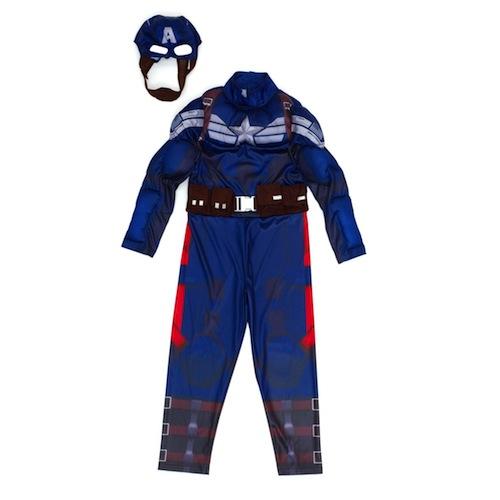 Disfraz Capitán América de Marvel