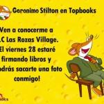 Geronimo Stilton estará en Las Rozas Village Madrid, un buen #planniños y mucho más