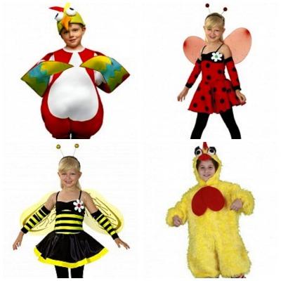 Disfraces infantiles de primavera