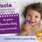 Conoce las novedades de Carrefour Baby y consigue un lote de productos en nuestro sorteo