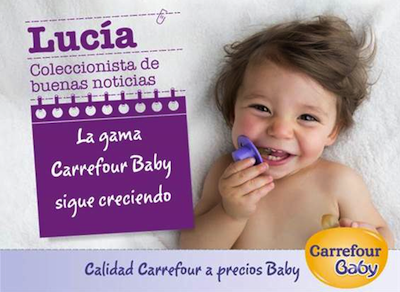 Gama Carrefour Baby 2014 nuevos productos