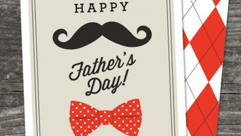 tarjeta dia del padre para imprimir