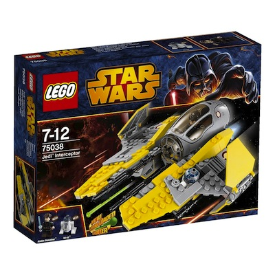 Lego Star Wars Jedi Interceptor