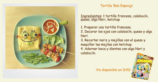 receta esponja de tortilla francesa de bob